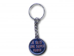 porte clés je suis une super mamie