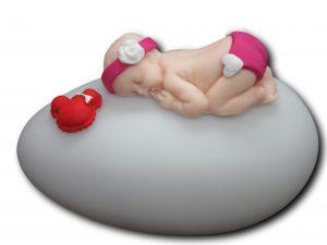 veilleuse bébé fimo culotte courte