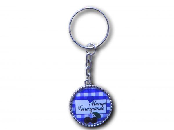 porte clés mamie gourmande cerises