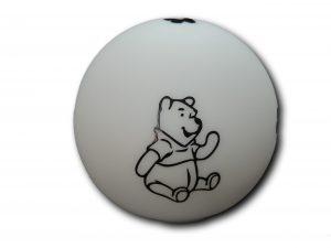 veilleuse ronde silhouette winnie l'ourson vue de face
