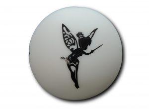 veilleuse silhouette boule fée vue de face