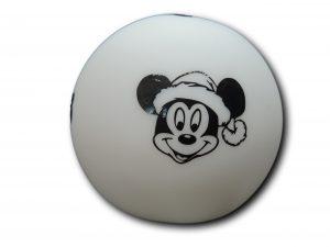 veilleuse silhouette boule mickey vue de face