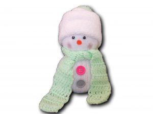 bonhomme de neige vert deux