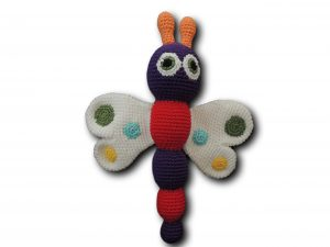 amigurumi papillon face