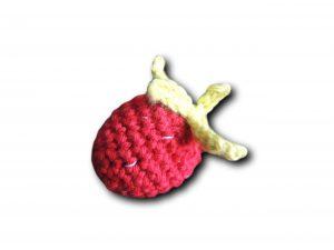 fraise vue de côté